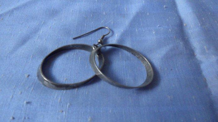 紫色小館8-------鋼製耳環