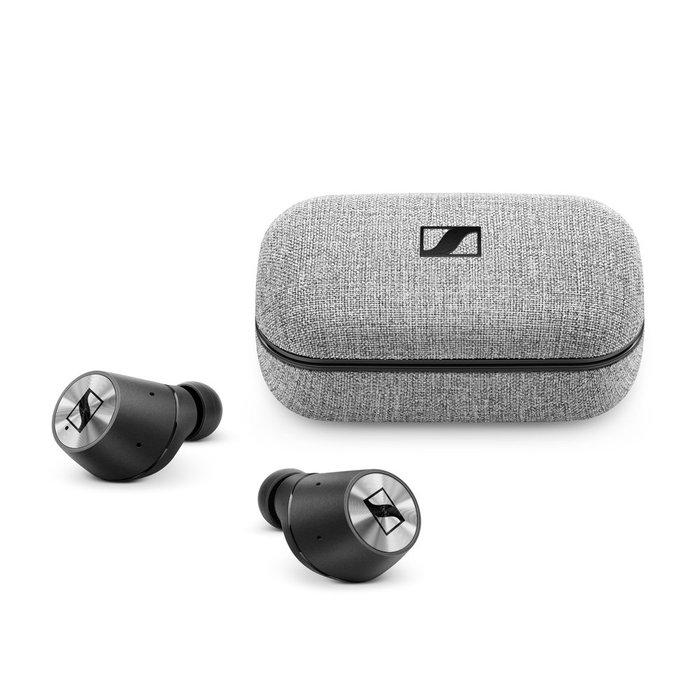 德國 SENNHEISER 森海塞爾True Wireless 真無線藍牙耳機 黑色 公司貨保固2年