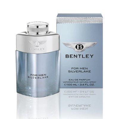 [世紀香水廣場] Bentley賓利For Men SliverLake銀湖男性淡香精100ml (原廠公司貨)
