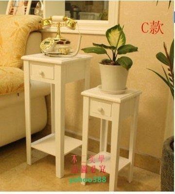 美學180白色歐式簡約現代小花架實木質客廳落地花盆架子3736❖93115