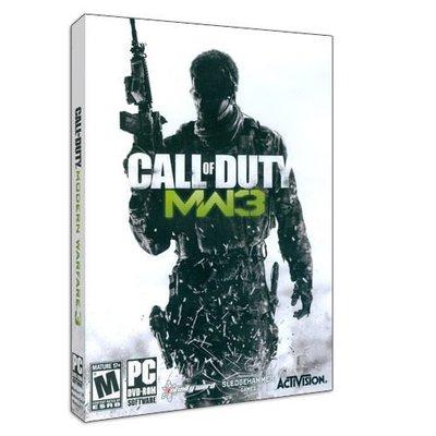 【傳說企業社】PCGAME-Call of Duty:Modern Warfare 3 決勝時刻8:現代戰爭3(英文版)