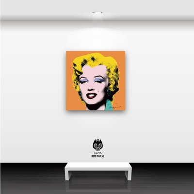 GUYS潮物專賣店 amm-013 普普藝術 安迪沃活 瑪麗蓮夢露 無框畫 壁畫 居家佈置 客製化 訂製 裝飾畫 禮物
