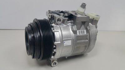 BENZ W210 M111 ML 98-02 壓縮機 (6溝1腳插頭)(整顆DENSO原裝進口) 0002307011