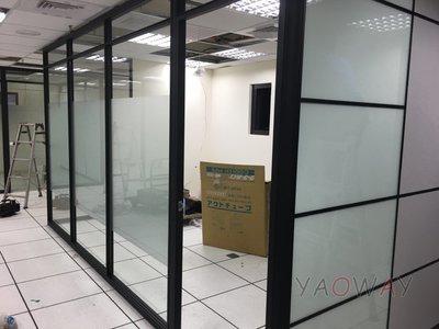 【耀偉】鋁框高隔間 (辦公桌/辦公屏風-規劃施工-拆組搬遷工程-組合隔間-水電網路)9