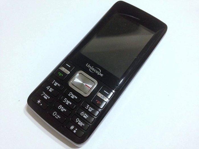 ☆手機寶藏點☆Uniscope U79 直立式手機 雙卡雙待《附原廠電池+旅充或萬用充》可超商取貨 讀B 97