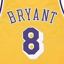 Adidas Kobe KB8 8號 球衣 湖人 主場 HWCN NBA LA Lakers 老大 曼巴 科比 退休 絕版 L號 紫金色