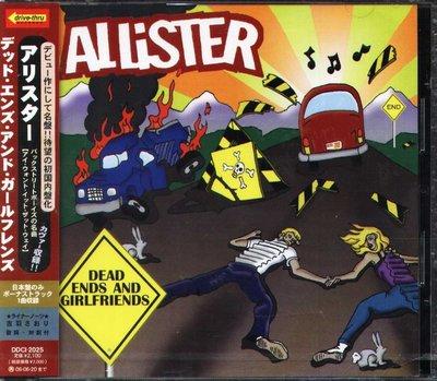 K - Allister - Dead Ends And Girlfriends - 日版 +1BONUS - NEW