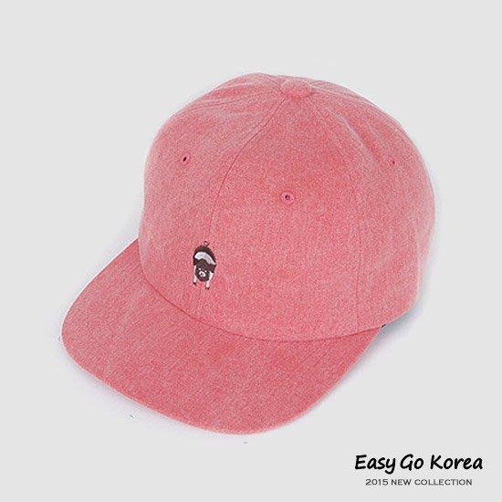 【Easy GO 韓國潮牌代購】《一週偶像》BTS 防彈少年團/J-Hope - 可愛小豬粉色棒球帽 特價↘