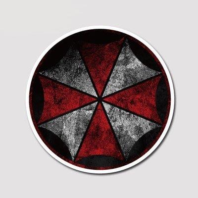 【SPSP】Umbrella 保護傘 惡靈古堡 生化武器 生化病毒 3M貼紙 防水貼紙 疤痕貼紙 旅行箱貼紙 筆電貼紙
