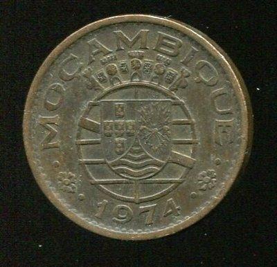 Mozabnbique(莫三比克硬幣),50-CENT,K89,1974,品相極美XF