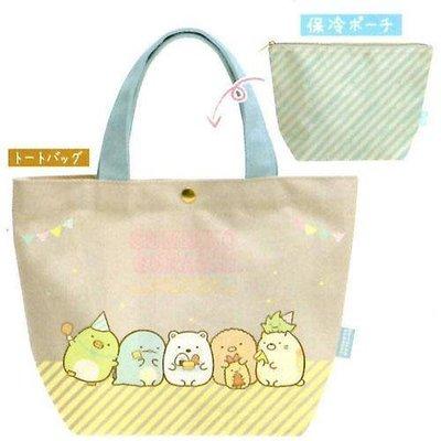 日本進口~角落小夥伴 / 拉拉熊 2way 帆布手提袋 / 保溫保冷袋 (共2款)