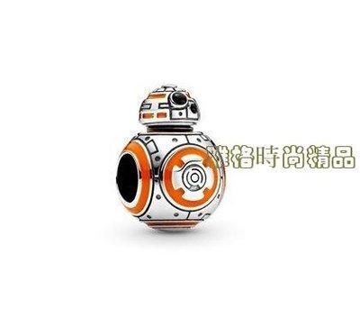 雅格精品代購 PANDORA 潘朵拉 星際大戰BB-8串飾 925純銀  美國代購