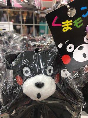 ☆愛莉詩☆日本帶回-熊本熊絨毛吊飾 (日本連線)