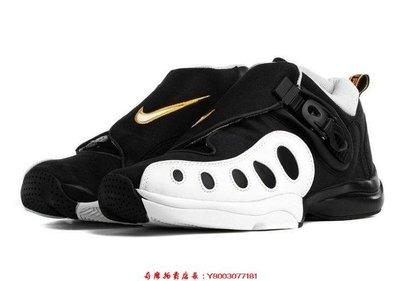 全新真品NIKE ZOOM GP OG GARY PAYTON 超音速 黑白金 手套 培頓 AR4342-002慢跑休閒潮鞋