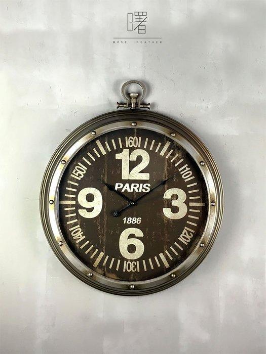 【曙muse】美式復古掛鐘鎖頭造型( 限量1個 )