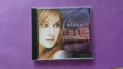 【鳳姐嚴選二手唱片】Celine Dion / MY HEART WILL GO ON (DANCE MIXES)