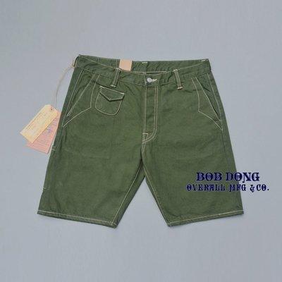 造夢師 獨家代理 BOB DONG LOT:DP551T 斜紋布 純色/WORK 赤耳 男仕工裝/休閒短褲