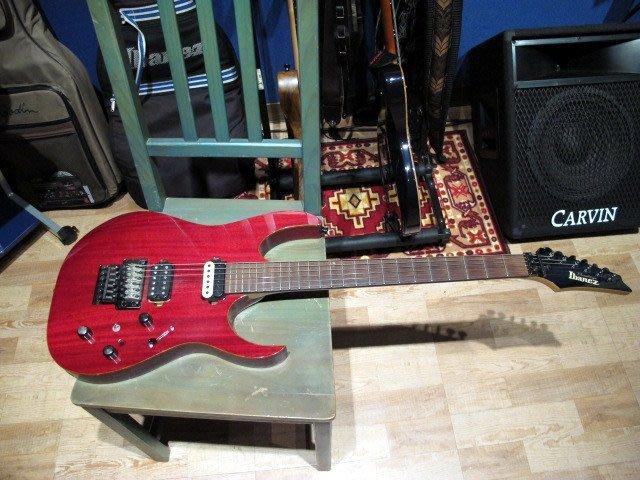 ☆ 收藏出讓︵☆日廠 Ibanez RG2020X 電吉他(含 L.R. Baggs Piezo 木吉他模擬雙輸出)