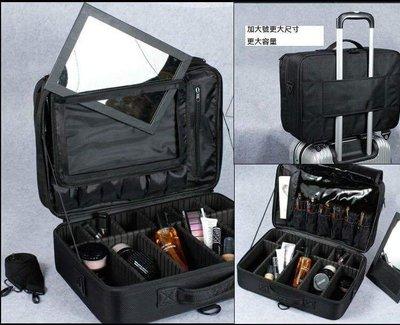 加大專業隔板可掛於拉桿行李箱上化妝包