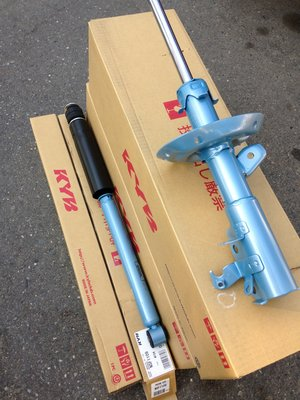 【童夢國際】KYB NEW SR 藍筒 藍桶避震器 PRIUS IS200 RX330 ALPHARD IS250