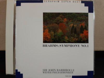 Barbirolli,Wiener Phil,Brahms-Sym No.1&2,Tragic巴比羅里指揮維也納愛樂,演繹布拉姆斯第一、二號交響曲,悲劇序曲。