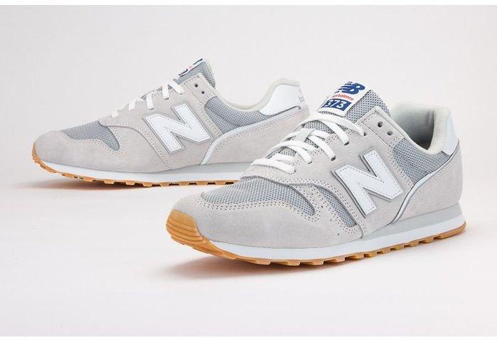 ➕sneakersplus➕ 男女 NEW BALANCE 373 NB 復古 慢跑鞋 白灰 紅藍標 ML373DC2
