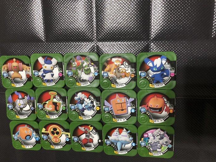 百貨公司機台落卡神奇寶貝pokemon tretta方型卡匣第11彈 Z1彈 級別二星15個一組
