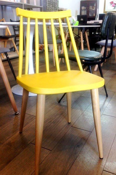 [ 椅子王 ]---  溫莎。鐵腳木皮紋。休閒餐椅
