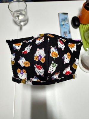 3D 四層立體口罩套  大人小孩幼幼都可做 可夾口罩也可當一般布口罩 非醫療用