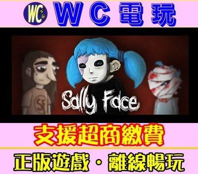 【WC電玩】PC 俏皮臉 中文終極版(主程式含所有資料片) Sally Face 莎莉臉 STEAM離線版
