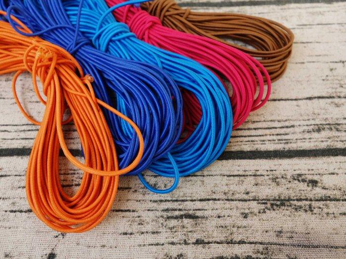 2MM/1M長 進口乳膠 橡皮筋 松緊帶 彈力繩 圓繩 手工藝 筆記本 diy  乳膠繩