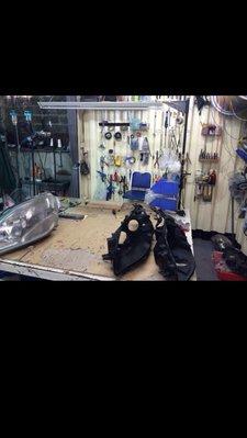 到府不加價永久保固【高雄】汽車玻璃修補 玻璃刮傷處理 燈殼內外翻修~立可補