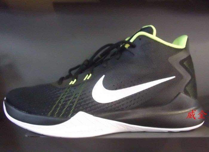 【威全全能運動館】NIKE ZOOM EVIDENCE 運動 籃球鞋 現貨 保證正品公司貨男款852464-006