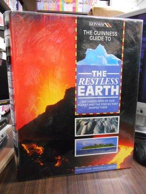 天母二手書店**The Guinness Guide to the Restless Earth(英語)16開精裝彩