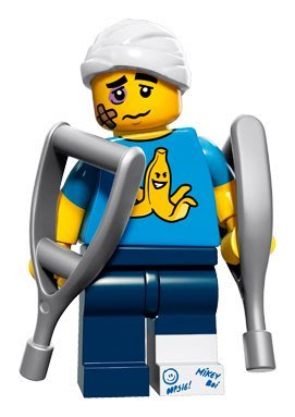 現貨【LEGO 樂高】積木/ Minifigures人偶系列: 15 代人偶包抽抽樂 71011   摔跤人 掰咖人