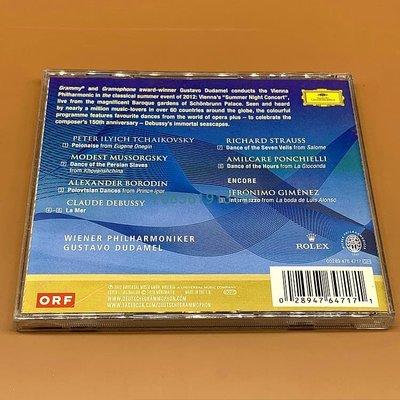 爆款CD.唱片~美泉宮之夜夏季音樂會CD Dances And Waves Schoenbrunn 2012