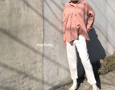(現貨)男友風寬鬆百搭長袖襯衫
