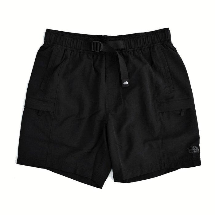 【 Wind 】The North Face Belted 7 Inch 機能 尼龍短褲 UPF50 防曬 速乾 網眼