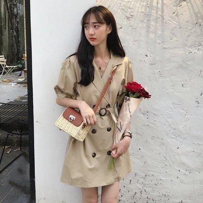 冷系女裝高冷范夏港風chic輕熟流行裙子成熟氣質女生社會