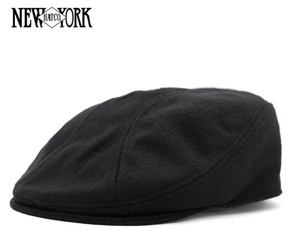 【 超搶手 】全新正品 美國經典老牌 NEW YORK HAT Wool Melton 1900 羊毛材質 鴨舌 小偷帽 黑 深灰