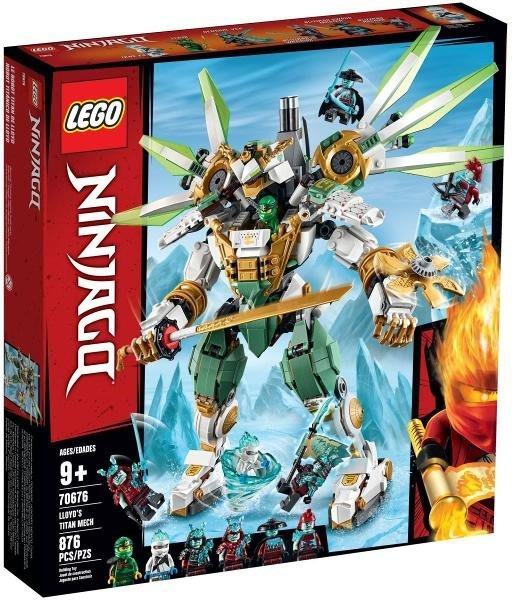 【W先生】LEGO 樂高 積木 玩具 Ninjago 忍者系列 勞埃德的鈦機械人 70676