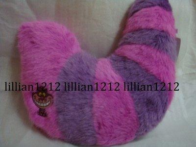 日本東京迪士尼disney限定妙妙貓尾巴抱枕娃娃