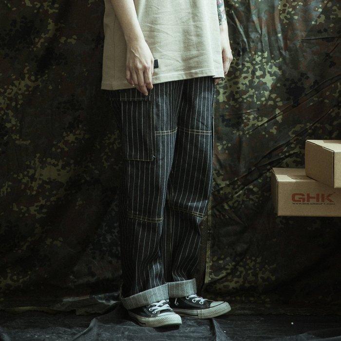 "GHK ""Veteran Collection"" DENIM PANTS"" V2 丹寧條紋牛仔 工作褲"