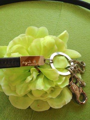 Agnes.b 真皮鑰匙/ 背帶/ 腰鍊 多功能皮帶鍊扣 台北市