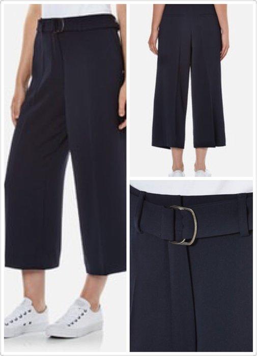 喬瑟芬【Sportmax Code】清倉~2016秋冬 黑色 人造絲 Culottes 褲裙