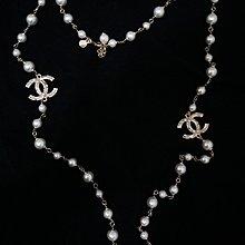 Chanel珍珠長項鍊(九成新)
