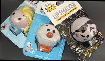迪士尼 Tsum Tsum Lip Smacker 護唇膏 帝國風暴兵 冰淇淋口味 單價  另有雪寶和艾莎可選