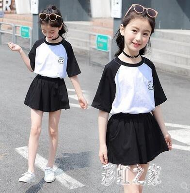 女童運動套裝 10十11大童女裝夏裝小學生女孩夏季衣服12-15歲女 B
