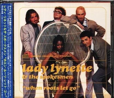 K - Lady Lynette - Spokesmen When Roots Let Go - 日版 CD+1 OBI