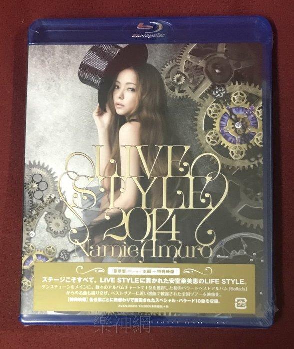 安室奈美惠 namie amuro 2014巡迴演唱會 時尚現場LIVE STYLE 2014 日版藍光Blu-ray